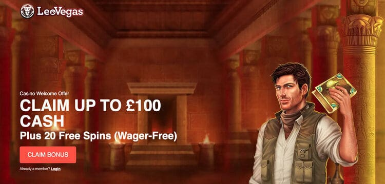 LeoVegas_new_welcome_offer_£100LeoVegas_new_welcome_offer_£100
