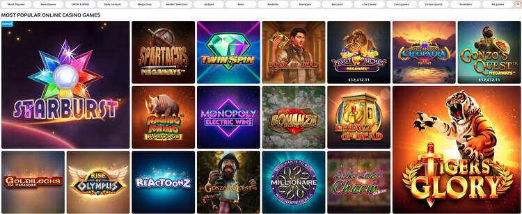 netbet_casino_games_screenshot