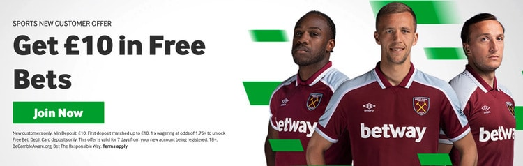 Betway_welcome_£10_free_bet